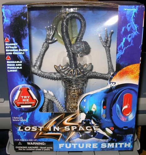 """LOST in SPACE""""FUTURE DR. SMITH"""" w/MAGNETIC ATTACK AND SPIDERS THAT CLIMB & CRAWL"""