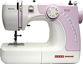 Usha New marvela Pink Electric Sewing Machine-Pink and White