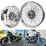 TARAZON 21x3.5/18x5.5 F&R FAT SPOKES WHEELS for Harley Touring Electra Glide,Ultra Classic Electra Glide,Road King, Road Glide 1984-2008