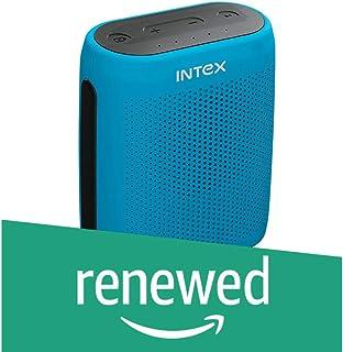 (Renewed) Intex Muzyk B10 Portable Speakers (Blue)