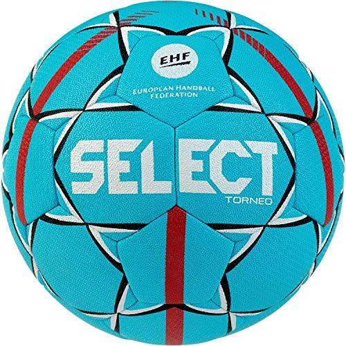Select Unisex Jugend Torneo Handball, Tuerkis rot, 1