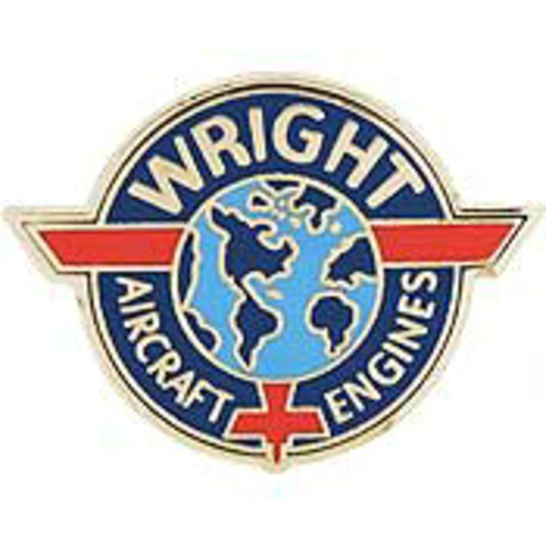EagleEmblems P15241 Pin-Apl,Wright Aircraft (Logo) (1'')