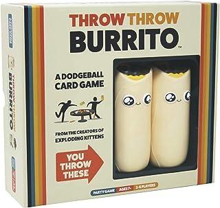 Throw Throw Burrito: یک بازی کارت Dodgeball توسط بچه گربه های در حال انفجار