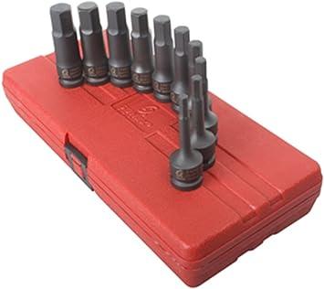 Sunex 13pc 3//8 SAE Metric Hex Driver Impact Sockets Set Tools Bits Drive MM 3649