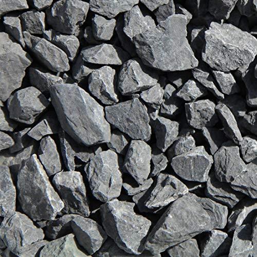 砂利 砕石 黒 ブラッククラベル 大 25-40mm 駐車場 庭 黒砂利 敷き砂利 黒色 化粧砂利 大粒 ガーデニング 20kg (20)