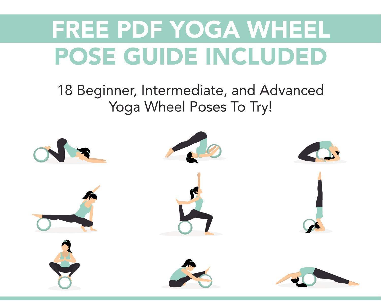 JERN Yoga Wheel Sports Wheel Thin Back Lower Back Training Pilates ...
