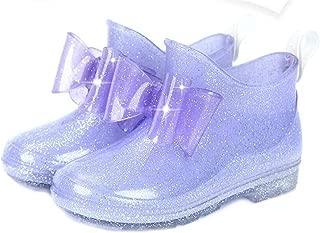 19-22 cm Mini SED Bracelet Boots Girl New Kids Rain Boots Non-Slip Shoes Girls Jelly Sandals