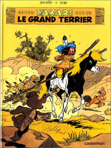 Yakari, tome 10 : Le grand terrier