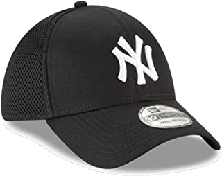 quality design 19952 0bddc New Era Authentic New York Yankees Black Neo 39THIRTY Flex Hat (M L)