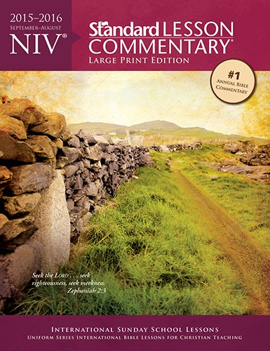 NIV® Standard Lesson Commentary® Large Print Edition 2015-2016