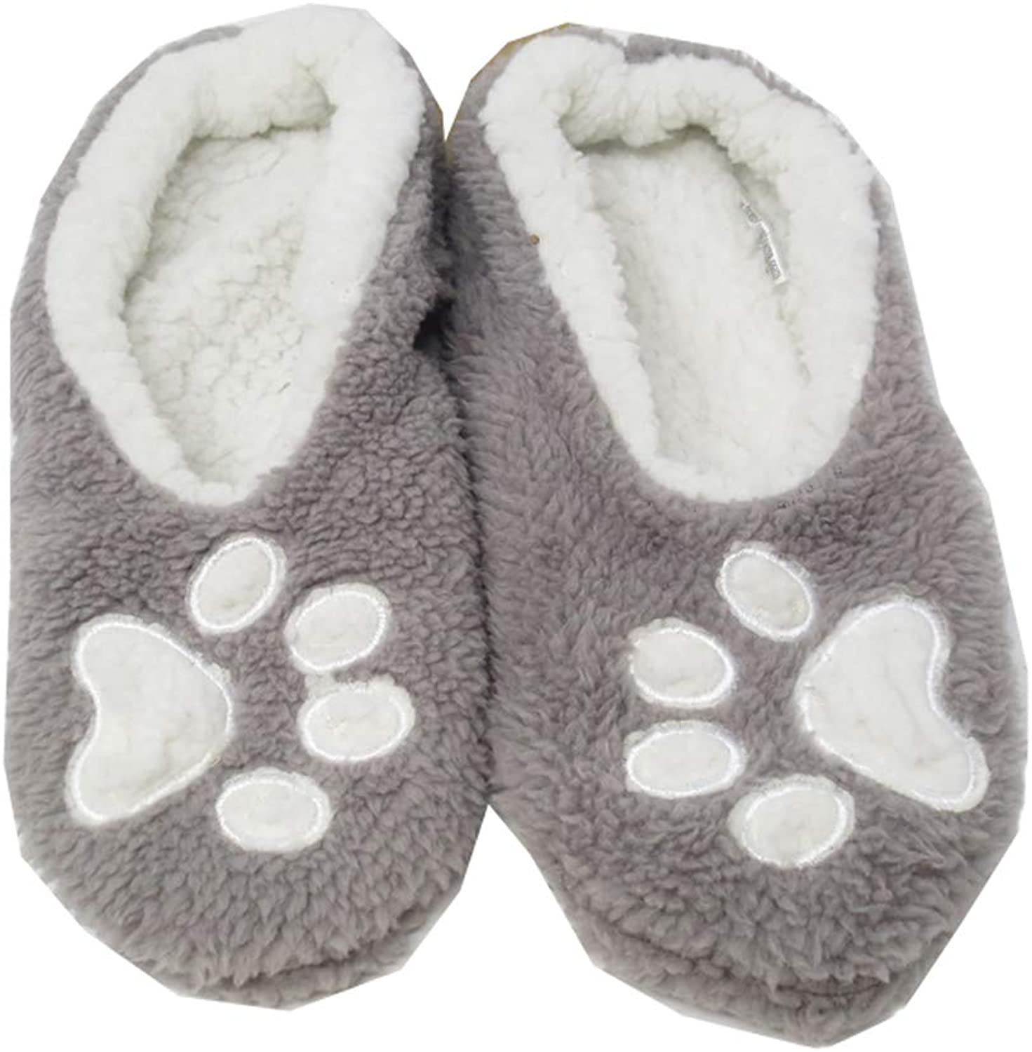 Faceplant Dreams  I Sleep with Dogs Slipper Footsies