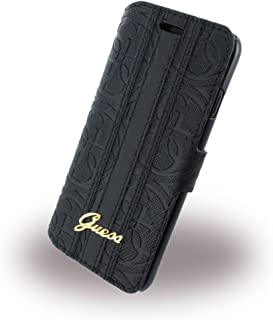 cfe830b0fd8 GUESS – Heritage guflbkp7slhebk – Funda – Apple iPhone 7 – Negro