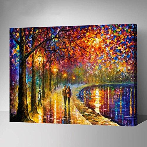 Van-Go Paint-By-Number Kit Autumn Express