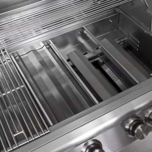 Blaze 32-Inch 4-Burner Freestanding Natural Gas Grill With Rear Infrared Burner - BLZ-4-NG
