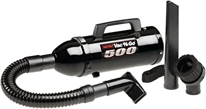 MetroVac VM6B500T Vacuum and Air Dryer with Turbine Brush, 1 Pack