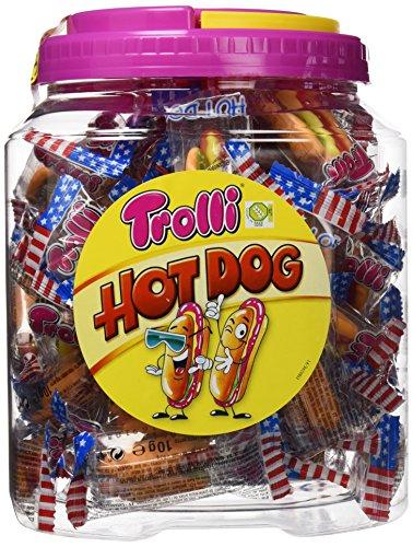 Trolli Hot Dog Caramelo de Goma - 600 gr
