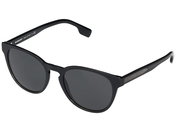 Burberry  0BE4310 (Top Opal Grey/Black/Grey) Fashion Sunglasses
