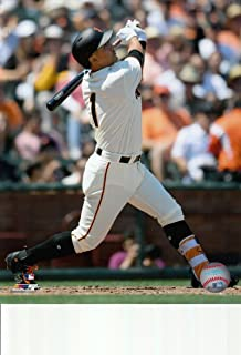 Jae-Gyun Hwang San Francisco Giants unsigned 8x10 photo (Home Jersey)