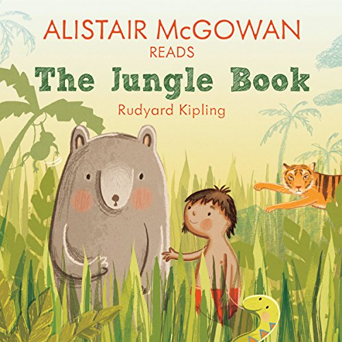 Alistair McGowan reads The Jungle Book (Famous Fiction) audiobook cover art