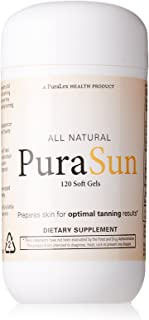 PuraSun All Natural Dietary Supplement, 120 Soft Gels