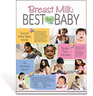 Breastfeeding Benefits Poster | Breast Milk: Best for Baby Poster | 18