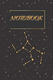 Notebook: Beautiful Notebook journal for all ages and tower lovers _Virgin Tower and Stares lovers _ gold Notebook journal...