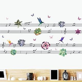 Best butterfly music wall sticker Reviews
