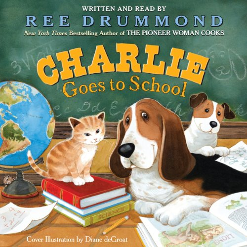 Charlie Goes to School audiobook cover art