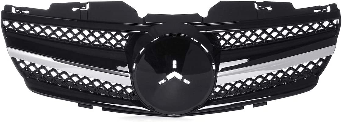 YJCJNB Front Bumper Grill Grille New Limited time cheap sale Black R230 Glossy Max 76% OFF