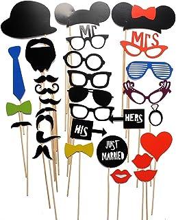 Amazon.es: photocall bodas - Gafas para fiestas / Gorros, máscaras ...
