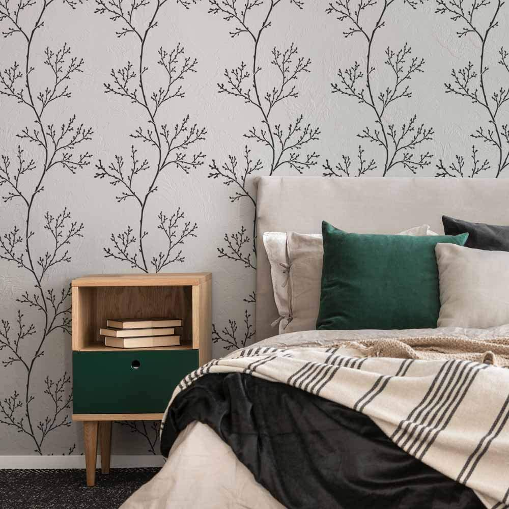 Spring Branches Wall Stencil - Stencils †Limited Special Price Botanical Walls for online shopping