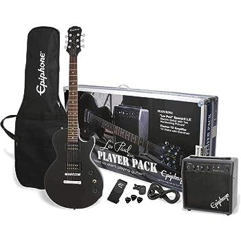 Epiphone Les Paul Player Pack - Ebony