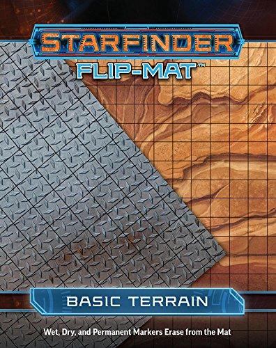 Starfinder PZO7301 RPG Flip Mat Basic Terrain