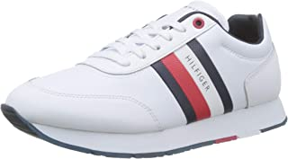 Tommy Hilfiger Corporate Leather Flag Runner Men's Sneakers