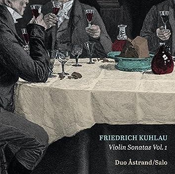 Kuhlau: Violin Sonatas, Vol. 1
