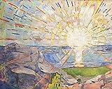 1art1 Edvard Munch - Die Sonne, 1910 Poster Kunstdruck 50 x