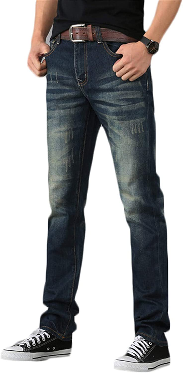 Andongnywell Men Classic Plus-Size Zipper Front S wash Open Max 45% OFF with Max 51% OFF