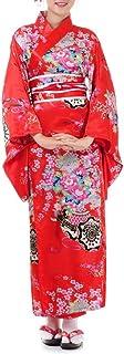 Princess of Asia Japanischer Geisha Satin Kimono Sakura S M