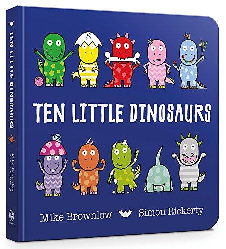 Ten Little Dinosaurs Board B