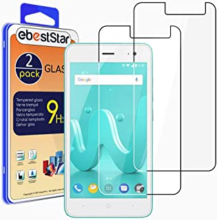 ebestStar – [2-pack kompatibel med Wiko Jerry 2 pansarglas skyddsfolie glas, skyddsglas skärmskydd, displayskyddsfolie 9H ...