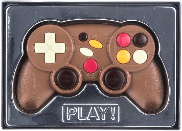Tavoletta di cioccolato in confezione regalo - tema joystick - 70 g weibler confiserie B00JWNOR0K
