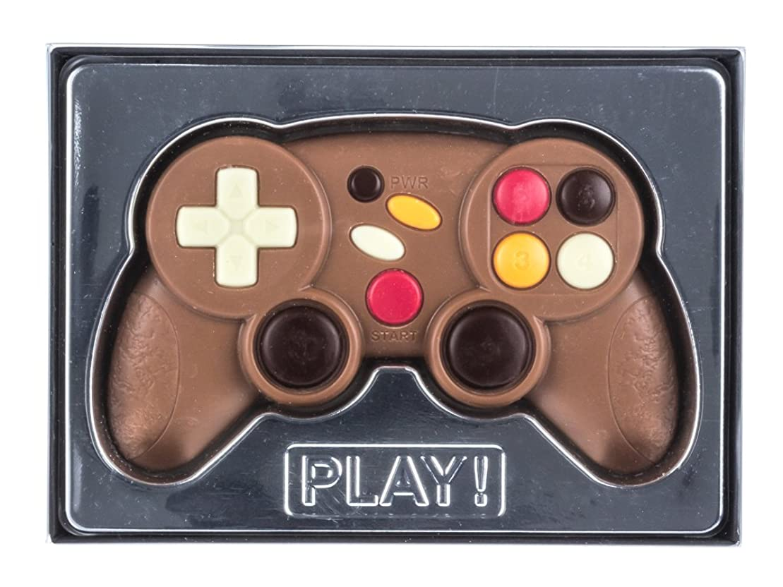 しばしば成功着陸チョコレートギフトボックス 「ゲームコントローラー」 70グラム