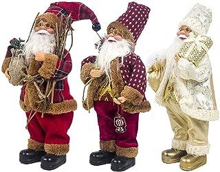 Sunnyushine 2020 Nueva Muñeca De Santa Claus Decoraciones Navideñas Muñeca Sentada De Santa Claus Colección De Muñecas De Vacaciones Adornos De Muñecas Artesanales Tradicionales Trusted
