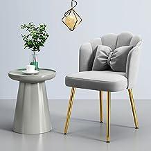 Sypialnia fotel Metalowa rama Miękki złoty aksamit Z regulowanymi antypoślizgowymi nóżkami 8 cm poduszki Wypoczynkowy fote...