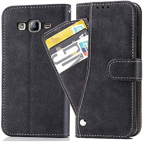 Asuwish Galaxy ON5 2015 G550 Wallet Phone Cases Luxury Leather Case with Credit Card Holder product image