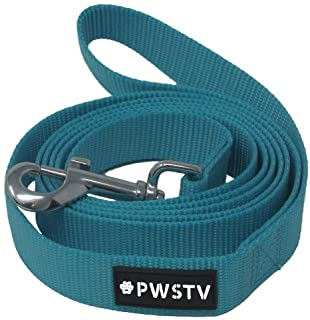 PWSTV by The Pawsitive Co. Dog Collar and Leash Collection - Dog Collars and Dog Leashes (Each Sold Seperately)