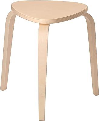 Ikea SSE Kyrre Stool Birch, 42w X 48d X 45h cm (16.5w X 19.0d X 17.7h Inch)