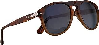 Persol PO0649S Sunglasses Resina E Sale w/Polarized Blue Gradient Lens 52mm 1025S3 PO0649 PO 0649 PO0649-S 649S 649-S PO 649