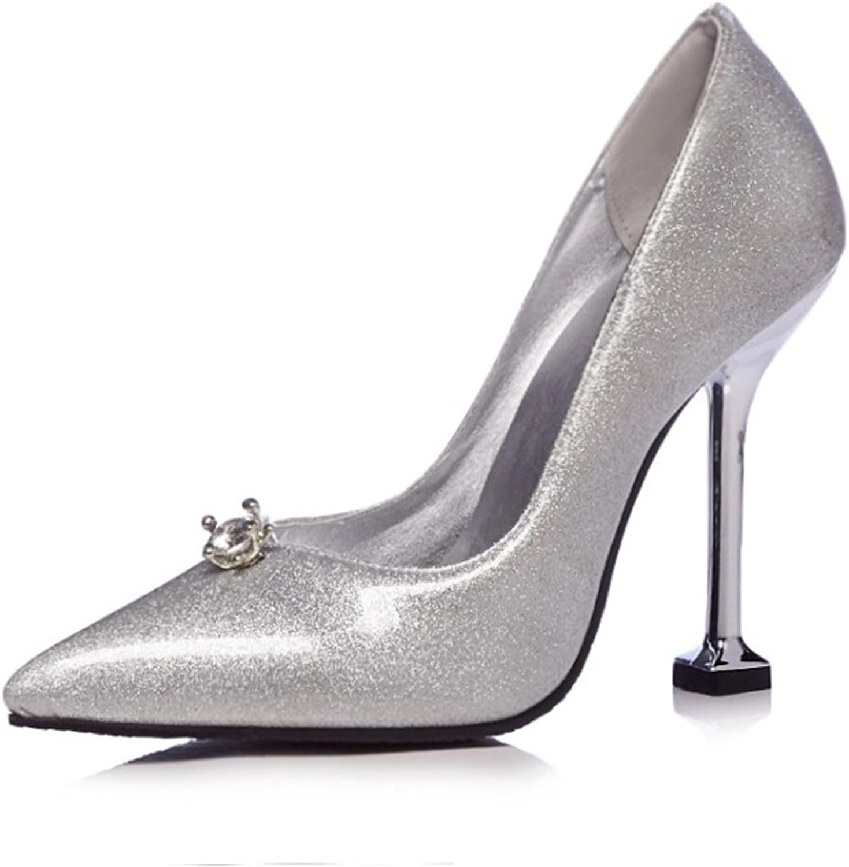 MIKA HOM Womens Sexy Fashion Peep-Toe Stripe Sandals Super High Heels