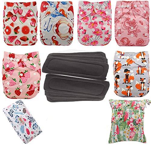Baby Stoffwindel waschbar wiederverwendbare Windeln Taschenwindel für die meisten Babys und Kleinkinder (DIP02)